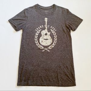 Grand Ole Opry Heathered Guitar Graphic T-Shirt